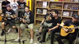Zebrahead - I'm Just Here For The Free Beer (Acoustic) Live in Australia 2014