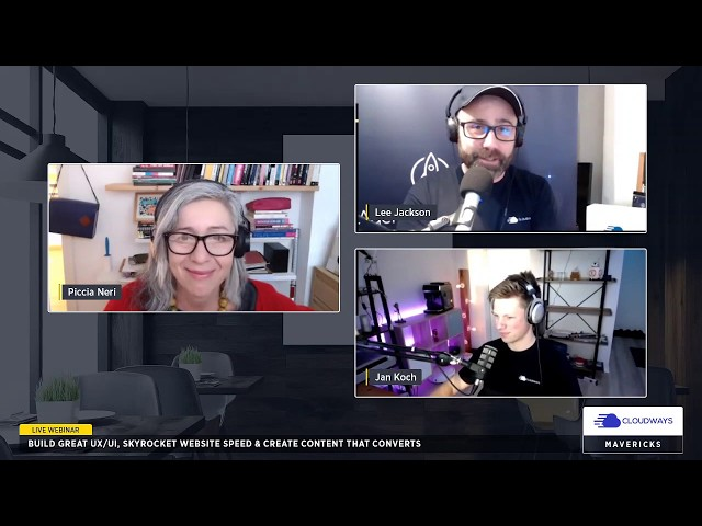 [Webinar] Build Great UX/UI, Skyrocket Your Website's Speed & Create Converting Content - Episode 3