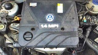 dementage moteur et boite  polo 4 - mecanique mokhtar tunisie/تفكيك محرك بولو 4