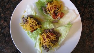 Day 5 Of 120 Day Challenge, Lettuce Wrap Steak Tacos! Shoulders In Gym