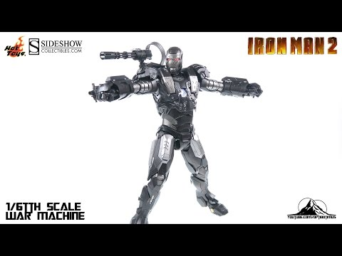Hot Toys Iron Man 2 Die Cast WAR MACHINE Video Review