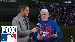 Joe Maddon reaches the World Series for the second time in his career | 2016 NLCS | FOX SPORTS