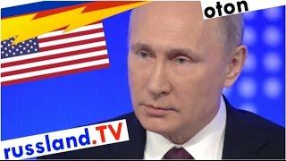 Putin auf deutsch: Wettrüsten mit USA?