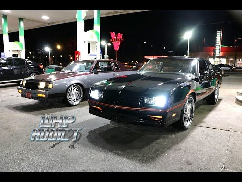 WhipAddict: Monte Carlo SS, Monte Carlo LS, Buick Regal TType, Hurst Olds Cutlass, 4 LS Swaps, ATL