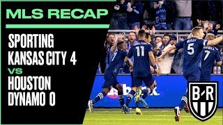 Sporting Kansas City 4-0 Houston Dynamo: 2020 MLS Recap with Goals, Highlights and Best Moments