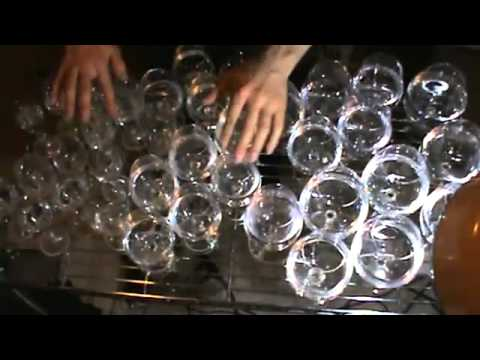 Harry Potter Theme   played with glasses of water