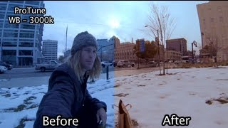 GoPro Hero3 ProTune With Color Correction - GoPro Tip #48