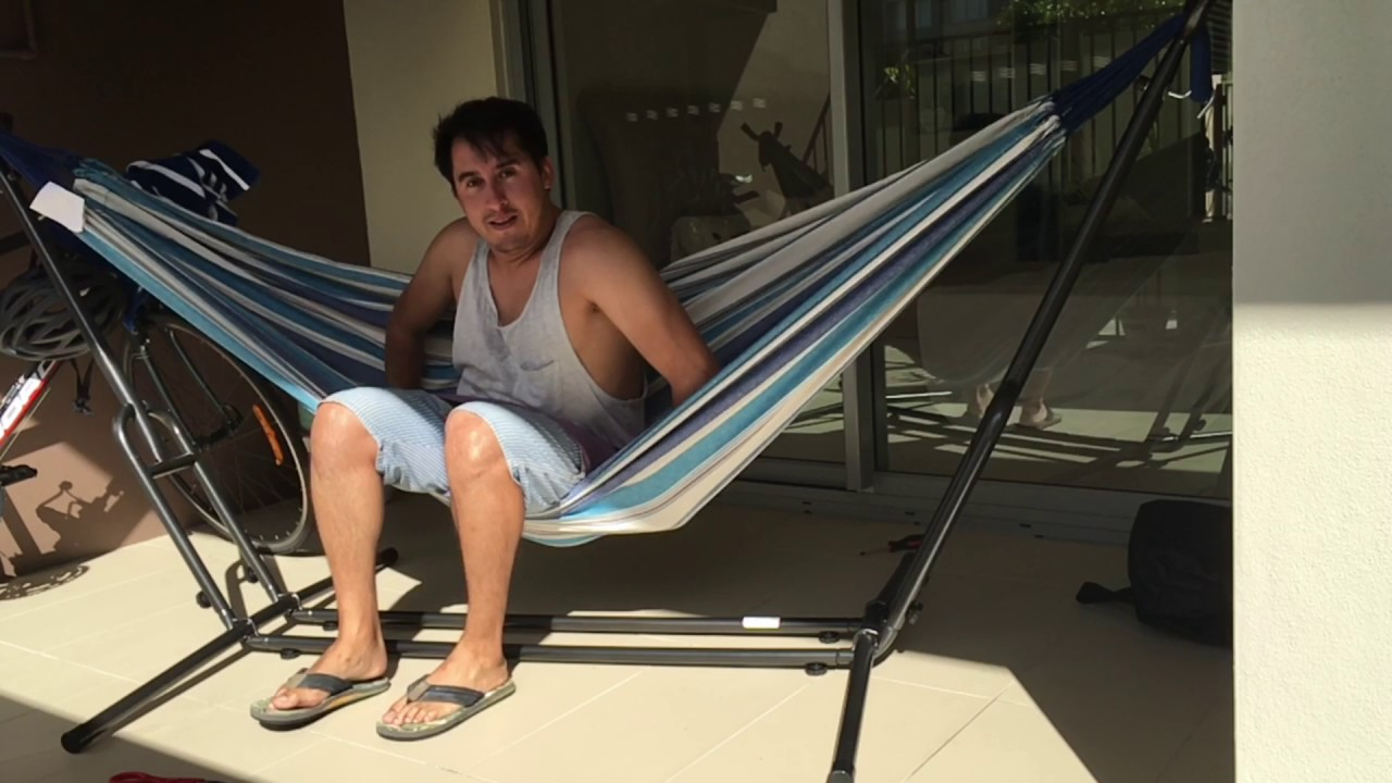 how to set up and enjoy an aldi hammock how to set up and enjoy an aldi hammock   youtube  rh   youtube