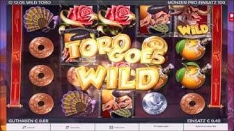 "Tipico Casino ★★ ""Wild Toro"" ★★ 1 Euro Einsatz ( 18 € Budget ) COMEBACK 0,40 Cent"