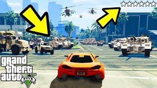 ЧТО БУДЕТ ЕСЛИ ПОЛУЧИТЬ 6 ЗВЕЗД В GTA 5 ???
