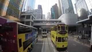 Tram Ride Across Hong Kong, 2016 (Driver