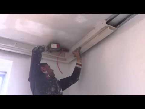 Contro soffitto in cartongesso - YouTube