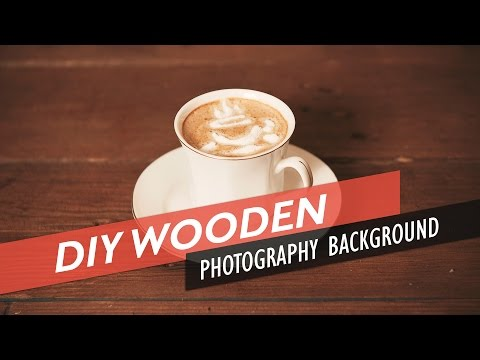 DIY Distressed Wooden Photography Background