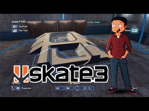 X7 Albert Fantasy Factory - Episode 4 (Skate 3 Park Builder)