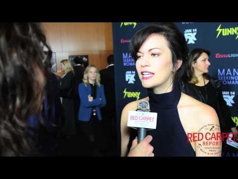 Britt Lower at the FXX Premiere for It's Aways Sunny & #ManSeekingWoman #SunnyFXX
