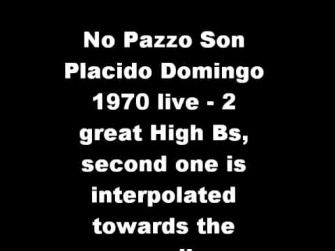 No pazzo son (Manon Lescaut) - Placido Domingo live 1970 Verona
