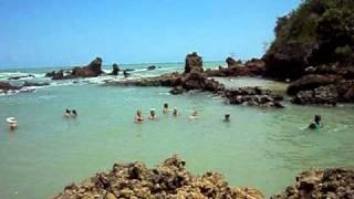 Nas águas de Tambaba - João Pessoa, PB