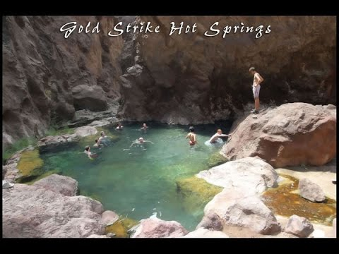 Hiking Goldstrike Canyon Hot Springs Las Vegas Nevada