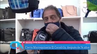 Cierra Marroquinería El Cocodrilo después de 74 años