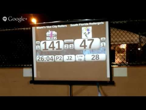 Miami's Vice City Rollers vs South Florida Roller Girls