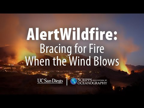 AlertWildfire: Bracing for Fire when the Wind Blows
