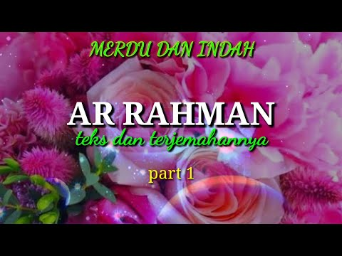 Ngaji Ar Rahman Merdu Sedih Bikin Nangis 1