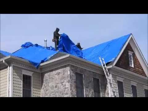Emergency Roof Tarp Service | 703 475 2446 | Roofer911.com
