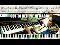 Got To Believe In Magic / Piano Cover Instrumental Tutorial Guide