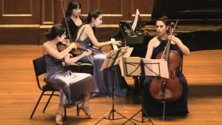 Kalb Le Dormeur du Val for Piano Trio. Clara Trio