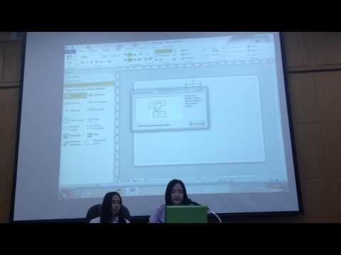 การเขียนแผนผังองค์กรโดยโปรแกรมVisio 2010 นางสาวจริญญา  สมุทรเขต