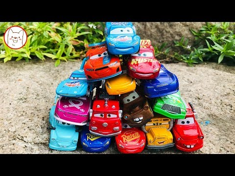 Disney Cars Collection - London Bridge Is Falling Down Learning Color River Nursery Rhymes For Kids