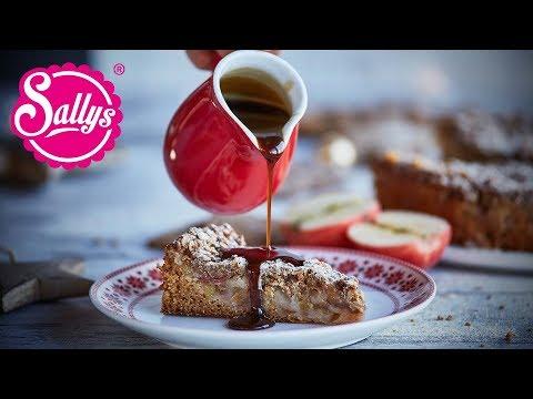 Apfel Spekulatius Kuchen / mega saftig & vegan