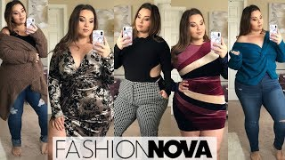 Fashion Nova Curve Fall Haul!