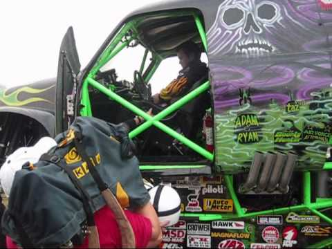 Grave Digger driven by FOX news anchor