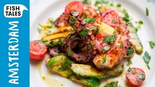 Grilled Octopus And Avocado Salad