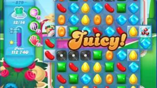 Candy Crush Saga SODA Level 879 CE