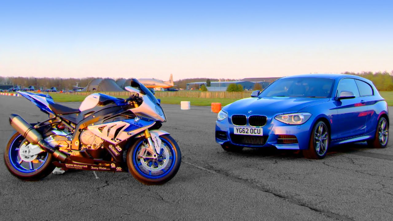 BMW M135i vs BMW HP4  Fifth Gear  YouTube