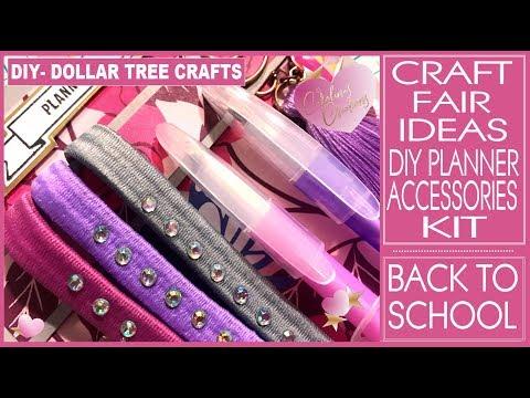 Craft Fair Ideas 2019 - DIY Planner Kit - Planner Accessories - Inexpensive Gift Ideas