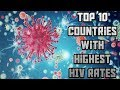 TOP 10 Cities With The Highest HIV Rates 2018