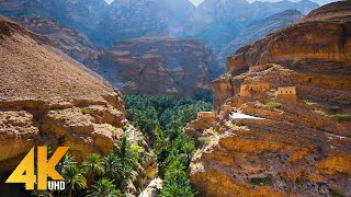 Incredible Oman in 4K UHD - Most Beautiful Nature Places of an Exotic Arab Country - Part #1