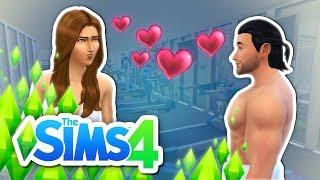 GYM GUY HITS ON MY GIRLFRIEND | Sims 4 True Love CHALLENGE #2