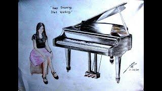 JAGO BANGET CEWEK INI MAIN PIANO PAKE IPHONE