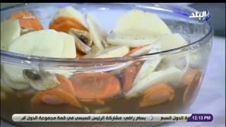 سفرة وطبلية | طريقة عمل بطاطس بالخضار والبرتقال مع الشيف توتا مراد