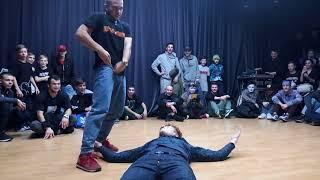 Gatchina Bboys, V1 Battle, Freestyle routine 2x2, Saint-Petersburg, 25 November 2017