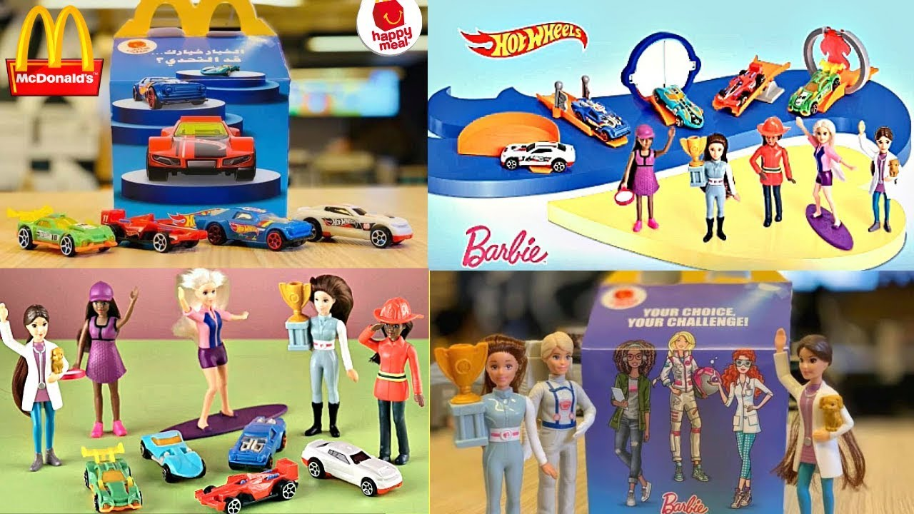 2019 Mcdonalds Barbie 60th Anniversary Hot Wheels