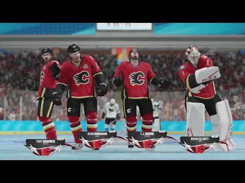 NHL 18 Beta - San Jose Sharks v Calgary Flames (NHL Threes)