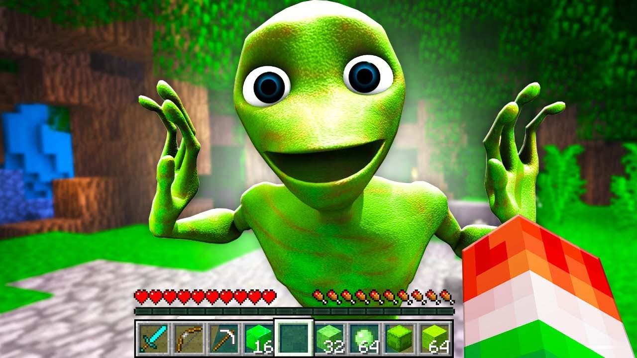 FINDING REAL DAME TU COSITA IN MINECRAFT!