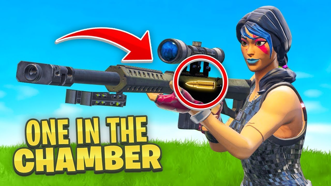 *NEW* ONE IN THE CHAMBER in Fortnite Playground 3.0