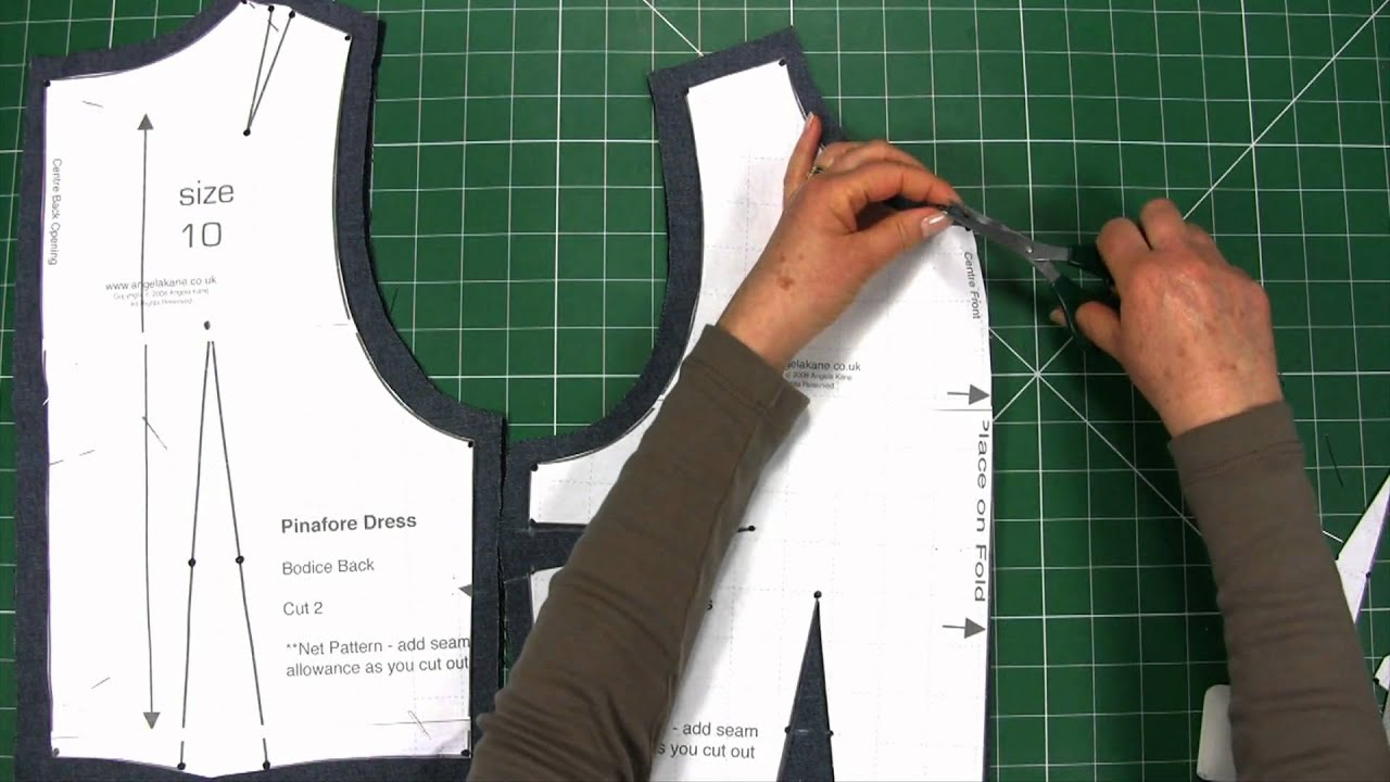 Design your own t shirt lesson plan - Sewing Make Your Own Clothes Part 4 More Ways To Transfer Markings Sewing Lessons Youtube
