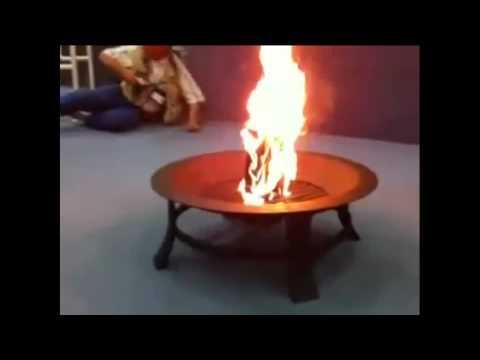 Terry Jones burns the Quran after a Trial.